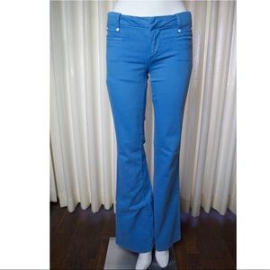Joe's Jeans Baby Blue Flared Wide Leg Pants